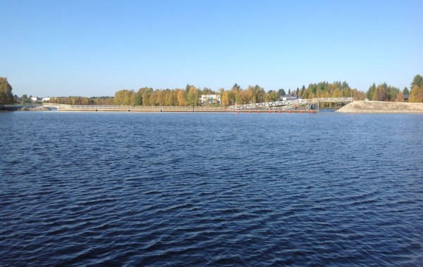 Harbour-silta, Kuusamo