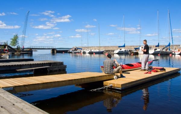 Matala-Susanna, kanoottilaituri, Tampere