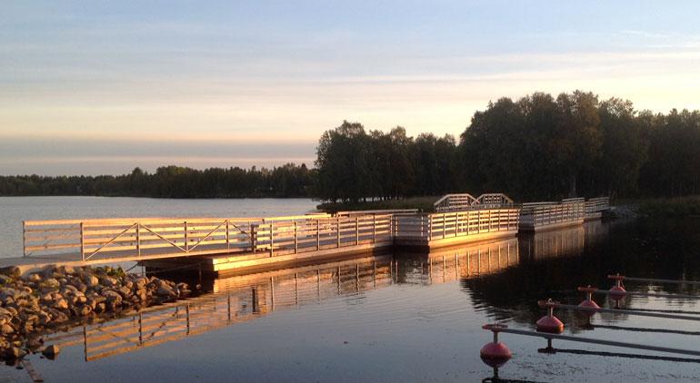 Kelluvat sillat, Harbour, Kuusamo
