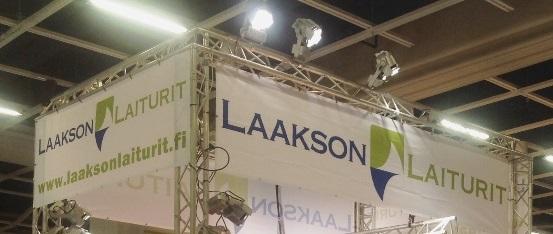 Laituriasiantuntijat Oulun Rakentajamessuilla
